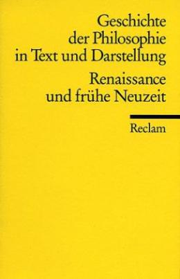 Geschichte der Philosophie in Text und Darstellung. Bd.3