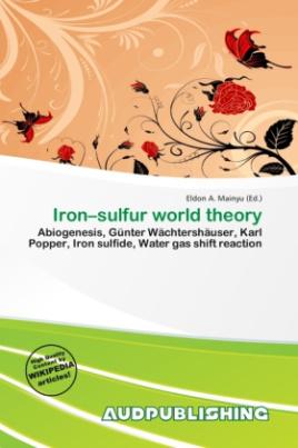 Iron sulfur world theory