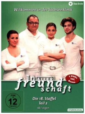 In aller Freundschaft, 5 DVDs. Staffel.18.2