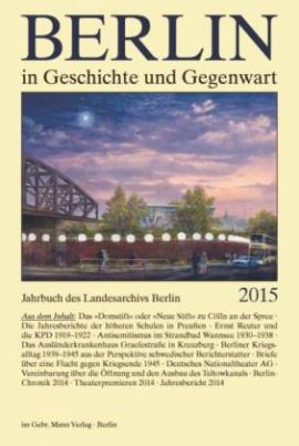 Berlin in Geschichte und Gegenwart 2015