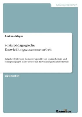 Sozialpädagogische Entwicklungszusammenarbeit
