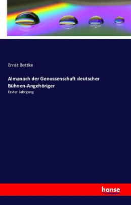 Almanach der Genossenschaft deutscher Bühnen-Angehöriger