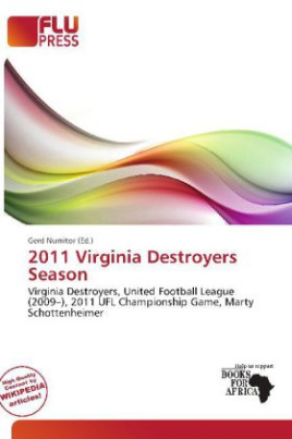 2011 Virginia Destroyers Season