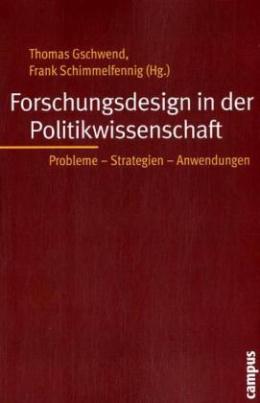 Forschungsdesign in der Politikwissenschaft