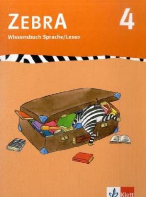 4. Schuljahr, Wissensbuch Sprache / Lesen