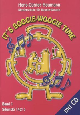 It's Boogie-Woogie Time, m. Audio-CD. Bd.1