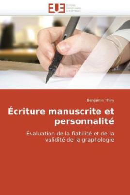 Écriture manuscrite et personnalité