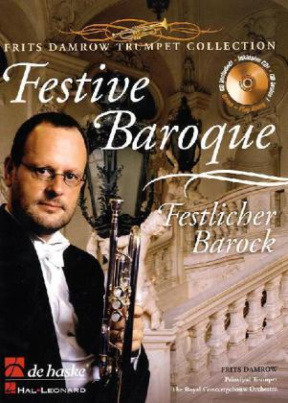 Festive Baroque, für Trompete in B u. Orgel, m. Audio-CD