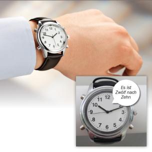 Sprechende Armband-Uhr