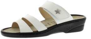 Sandalen aus Lackleder weiß Größe 37