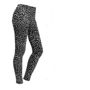 Leggings für Damen Leopardmuster Größe M