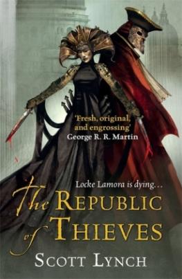 The Republic of Thieves. Die Republik der Diebe, englische Ausgabe