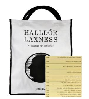 Hallódor Laxness, Sein Werk - Taschenbibliothek, 13 Bände