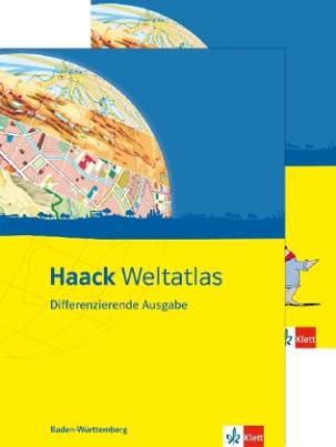 Haack Weltatlas, Differenzierende Ausgabe für Baden-Württemberg