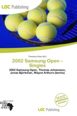 2002 Samsung Open - Singles