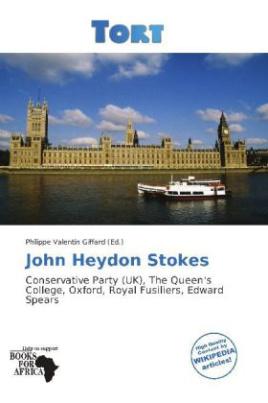 John Heydon Stokes
