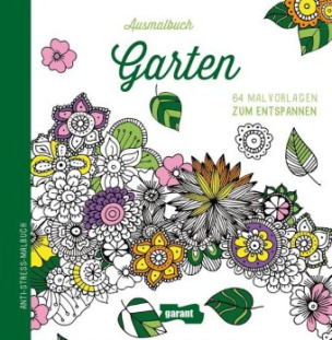 Ausmalbuch Garten