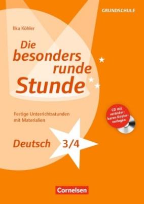 Deutsch: Klasse 3/4, m. CD-ROM