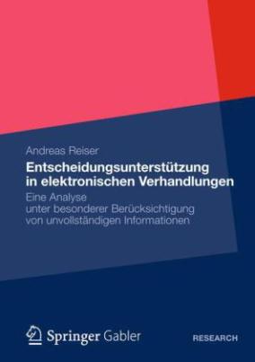 Entscheidungsunterstützung in elektronischen Verhandlungen