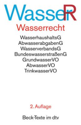 Wasserrecht (WasserR)