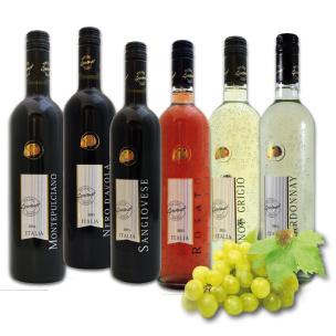 Weinpaket 6er Qualitätswein Marienkäfer