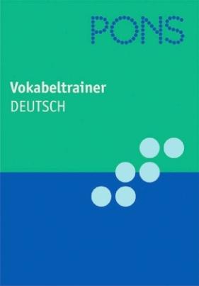PONS Vokabeltrainer Deutsch