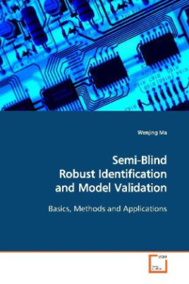 Semi-Blind Robust Identification and Model Validation