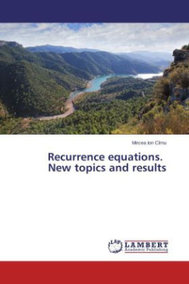 Recurrence equations. New topics and results