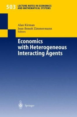 Economics with Heterogeneous Interacting Agents