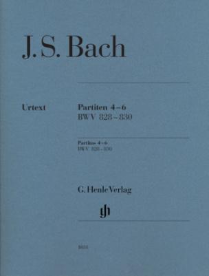 Partiten Nr.4-6 BWV 828-830, für Klavier