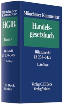 Bilanzrecht (BilR) §§ 238-342e