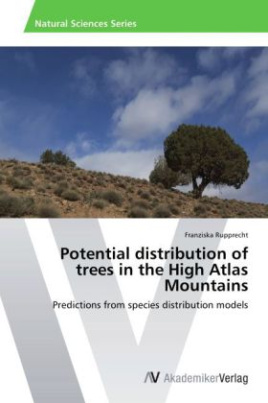 Potential distribution of trees in the High Atlas Mountains