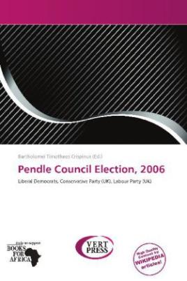 Pendle Council Election, 2006
