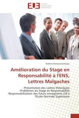 Amélioration du Stage en Responsabilité à l'ENS, Lettres Malgaches