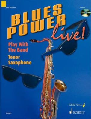 Blues Power live!, Tenor-Saxophon, m. Audio-CD
