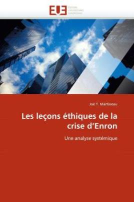Les leçons éthiques de la crise d'Enron
