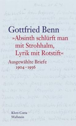 """""""Absinth schlürft man mit Strohhalm, Lyrik mit Rotstift"""""""