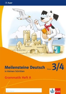 3/4. Schuljahr, Grammatik Heft A