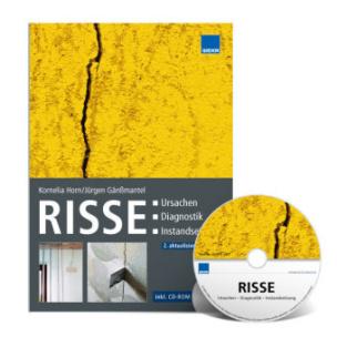 Risse: Ursachen - Diagnostik - Instandsetzung, m. CD-ROM