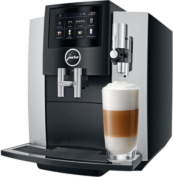 """JURA Kaffeevollautomat """"S8"""" (15202, silberfarben grau)"""