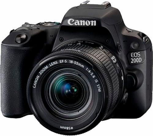 "CANON Kamera ""EOS 200D"" (24 MP, 18-55 mm, Wifi)"