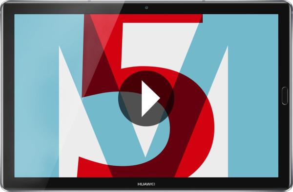 """HUAWEI Tablet """"MediaPad M5"""" (10,8 Zoll, 32 GB, WiFi, schwarz)"""