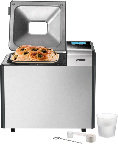 "UNOLD Brotbackautomat ""Backmeister Top Edition 68415"" (12 Programme)"