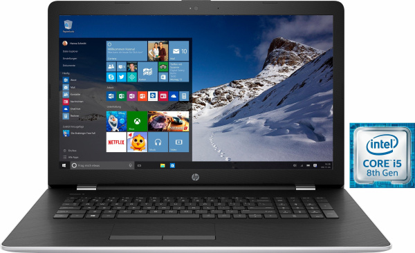 "HP Notebook ""17-bs102ng"" (Intel® Core™ i5, 17,3 Zoll, 1128 GB, 8 GB RAM)"