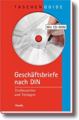 Geschäftsbriefe nach DIN, m. CD-ROM