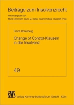 Change of Control-Klauseln in der Insolvenz