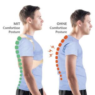 Rückenstabilisator Comfortisse Posture L/XL