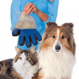 Fellpflege Tierhandschuh