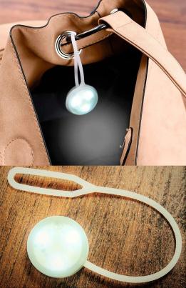 Handtaschenlicht mit LEDs weiß
