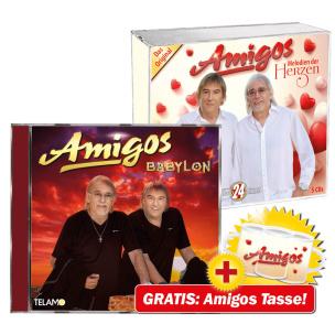 Nächte aus Feuer + Melodien der Herzen + GRATIS Amigos Tasse